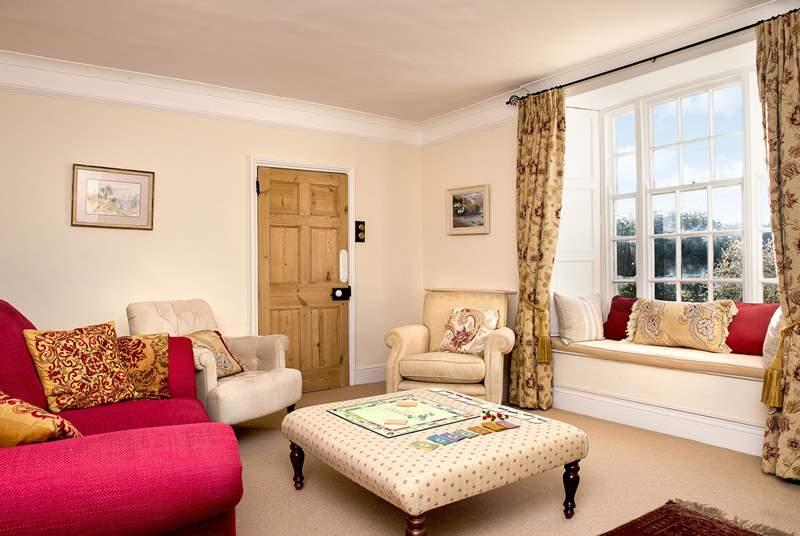The stylish sitting-room