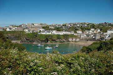 Charming Port Isaac on the north coast.