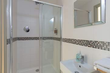 This is the en suite shower-room for the second double bedroom.