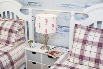 No need to jump out of bed in the morning, relax in your beautiful surroundings!