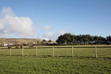 Surrounded by unspoilt lovely countryside views.