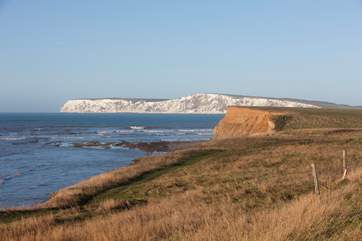 The spectacular coastline just down the road from The Coach House.