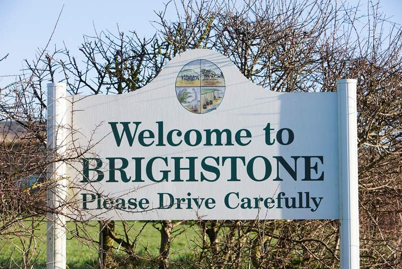 Brighstone is a charming village, an ideal base for a wonderful holiday.
