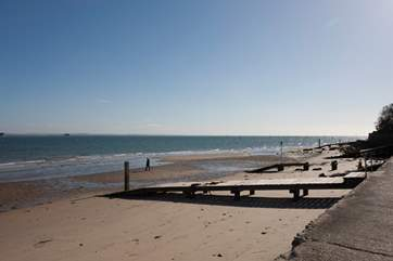 Seaview is the perfect place for a summer day down the beach, a spot of rock pooling or to get out your dinghy and see the village from the sea.
