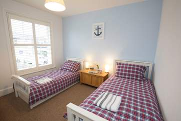 The cottage also has a twin bedroom on the first floor.