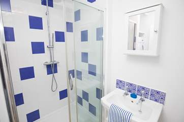 There is a shower-room located on the ground floor, accompanying the downstairs double bedroom.