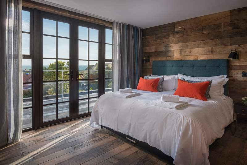 Enjoy the views without leaving your bed!