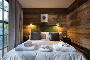 One of the gorgeous bedrooms.