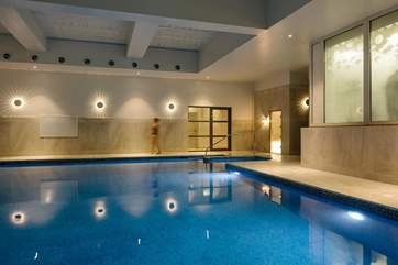 The lovely swimming pool.