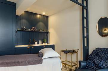 Why not treat yourself to a spa visit during your stay.