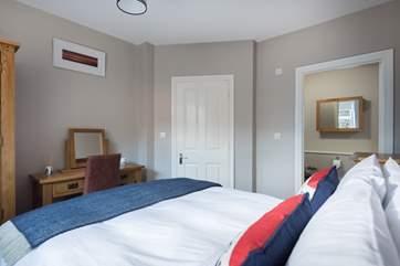 Bedroom 1 has an en suite cloakroom.
