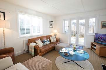 The house has two sitting-rooms to spread out, relax and put your feet up. There will also be no arguing over the remote, as each has its own TV.