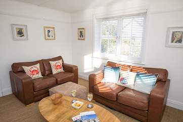 The second sitting-room has further seating and is a lovely room to grab a peaceful five minutes with a glass of something nice.