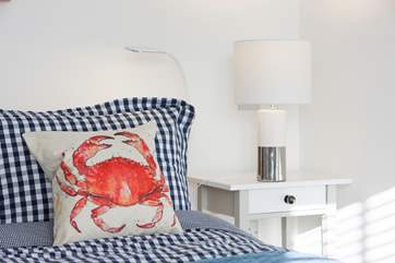 The cottage is just a ten minute walk from Bembridge, over the causeway crossing the harbour, a famous crabbing spot.