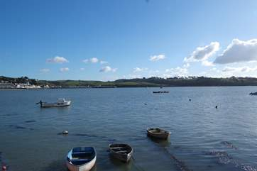 A five minute stroll takes you straight to the Quay with stunning views across to Instow and out to sea.