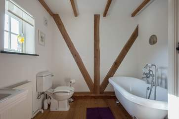 The second bathroom for the two further bedrooms.