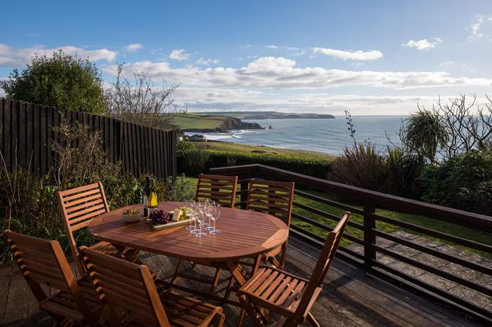 High Lea,Sleeps 6 + 2 cots, 5.1 miles W of Kingsbridge