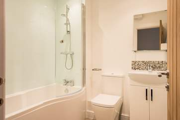 Relax in the tub after a day out exploring or take a refreshing shower to start the day.