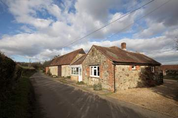 Bagwich Barn Cottage can be found located down a quiet country lane in Godshill.