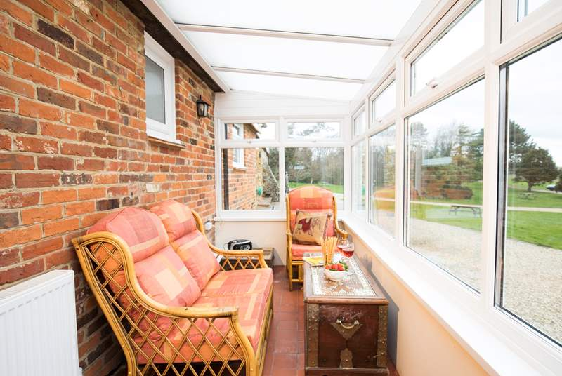 Enjoy the sun-room looking across the Bagwich grounds, see what wildlife you can spot.