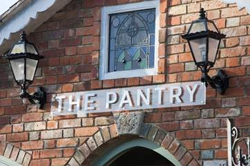 The Pantry is a lovely farm shop selling the best of Island produce.