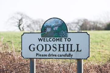 Welcome to Godshill, a quintessential English village in the middle of the Island.