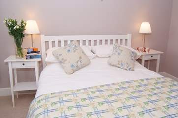 Everything in this property is the highest quality - going to bed after a day out exploring will be a treat in itself!