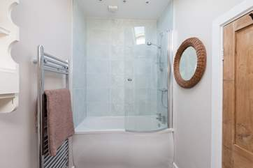 There is a brand new contemporary bathroom with the option of a shower or bath as you wish.