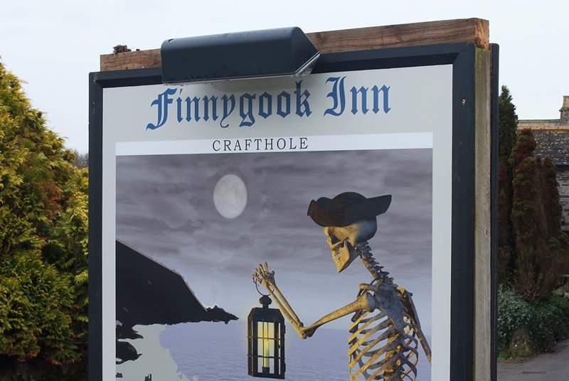 The pub in nearby Crafthole