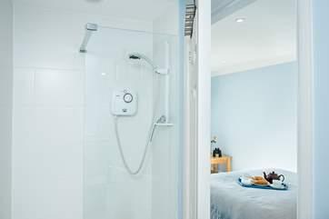 Bedroom 2 has an en-suite shower room