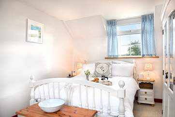 Bedroom 1 is utterly charming.