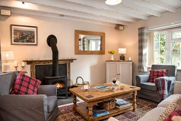 Plenty of room for everyone to chill out and relax after a day out exploring the delights of north Cornwall.