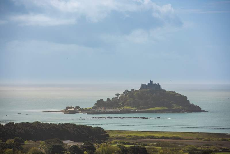 Seeing as you will spend so much time gazing at it, visiting the majestic St Michael's Mount is a must!