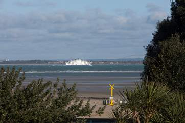 The lovely apartment is located in Ryde, situated close to foot passenger links to the mainland.