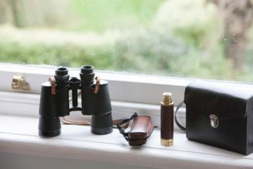 Make the most of the views, binoculars are provided!