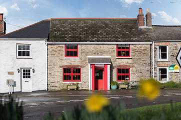 Red Cottage is in St Just-in-Roseland.