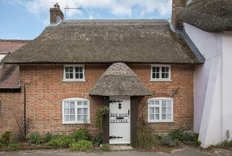 Beehive Cottage is 200 years old and used to be the home of the village district nurse.