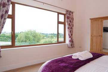 The fabulous super size window means that you can sit in bed with the most incredible unspoilt views in front of you.