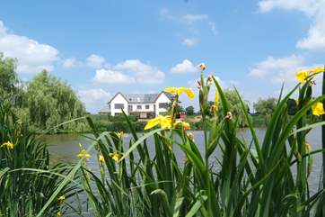Lakeview House is the left of these two wonderfully high quality brand new holiday homes..