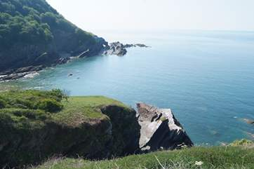 The north Devon coastline is a mixture of dramatic cliffs, rocky coves and stunning sandy beaches - renowned for surfing.