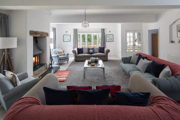 The sitting-room is such a fabulous space.