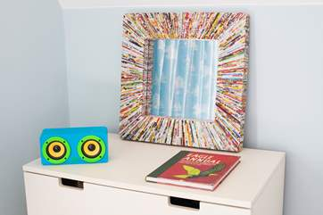 With a good stock of books and games the children will feel right at home here!