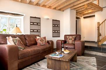 Plenty of room to unwind and relax in the sitting-room.