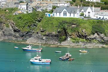 Picture perfect Port Isaac - wander the pretty streets, hear The Fisherman's Friends singing on the quay or indugle in some award-winning food at Nathan Outlaws!