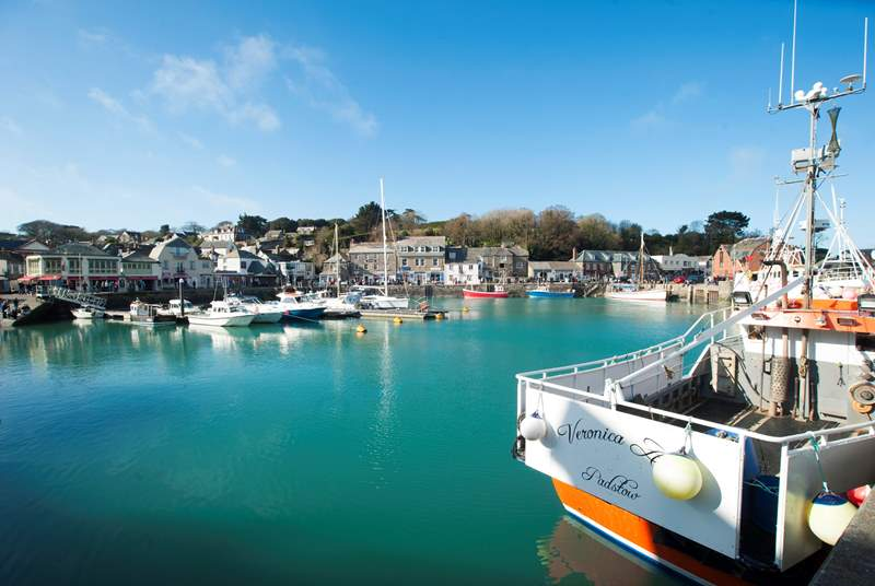 Ever popular Padstow is only a short drive away - browse the shops, grab some delicious bites, cooked up by Mr Stein perhaps or join a boat trip.