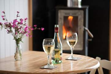 Light the fire, sit back, relax and enjoy the amazing countryside views.