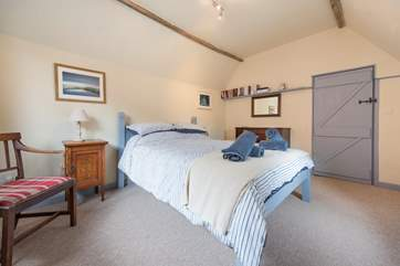 There are two double bedrooms and one single room at this lovely cottage.