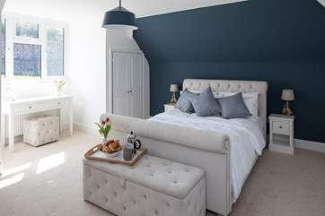 Bedroom 3 is both spacious and delightfully furnished, giving you a good taste of the standard to which all bedrooms have been finished to.