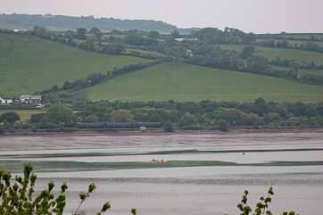 You can even canoe up the Teign towards Shaldon. What a fabulous day out!