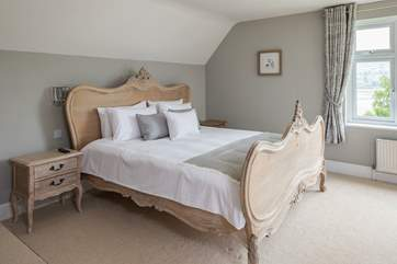The Master bedroom offers the most amazing super king size bed. (Bedroom 2)